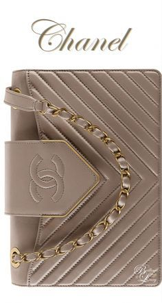 Brilliant Luxury by Emmy DE Chanel Gray Sheepskin Flap Bag FW 2016/17 #Burberryh…