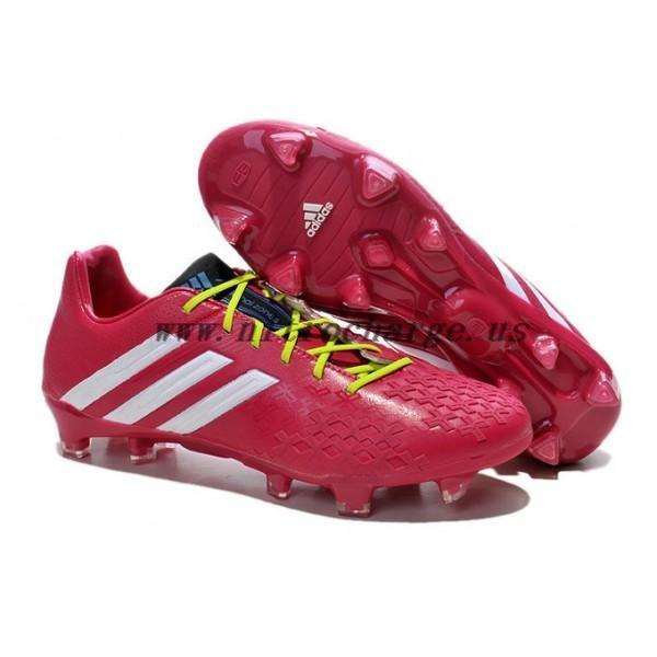 Cheap Adidas Predator LZ 2 TRX FG Mens Soccer Boots Berry White Slime