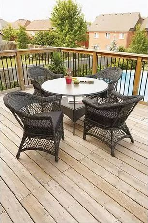 hometrends 5-Piece Wicker Dining Set for sale at Walmart Canada. Get Outdoor Living online for less at Walmart.ca