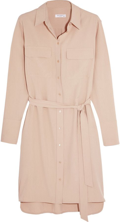 Equipment Delany Washed-Silk Shirt Dress