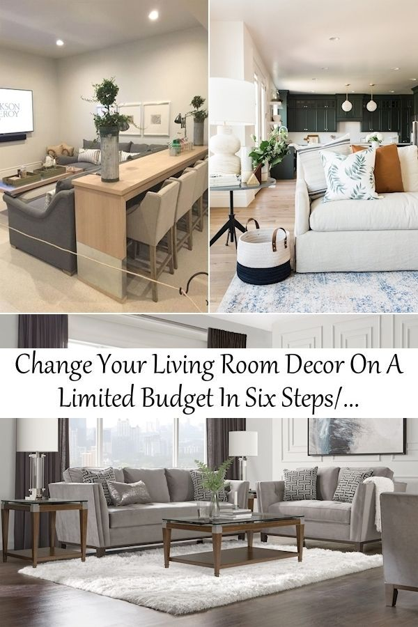 Change Your Living Room Decor On A Limited Budget In Six Steps In 2021 Lounge Design Living Room Decor Decor Steps to decorating living room