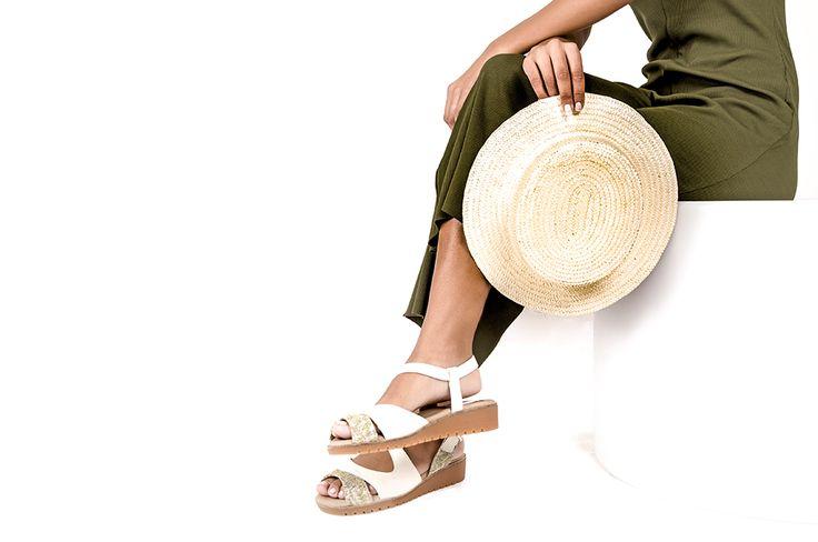 BOIRA MUSGO lookbook primavera/verano 2017 - RAY MUSGO Zapatos ecologicos de mujer #sandalias #sandals #musgo #natural #sincromo #cromo #metales #alergias #natural #sinniquel #niquel #nickelfree #chrome #chromefree