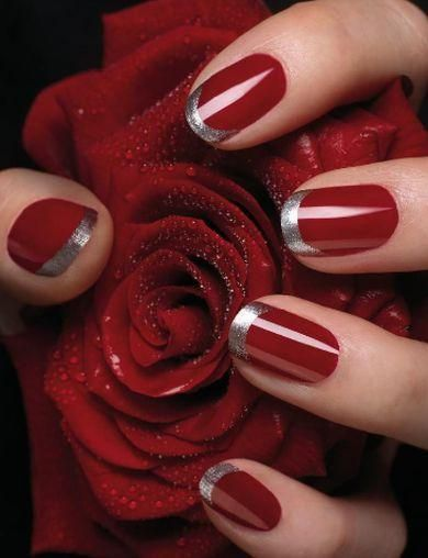 Uñas francesas o uñas french. Más de 70 fotos con diseños | Decoración de Uñas - Manicura y Nail Art