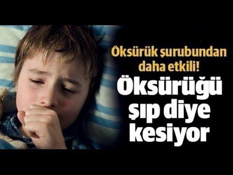 Öksürüğü Geçiren Mucizevi Tarif !!! - YouTube