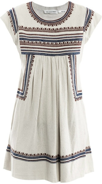 Demma Embroidered Dress - Lyst