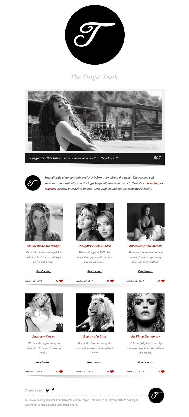 Convert color image to black and white online - The Tragic Truth Online Newsletter