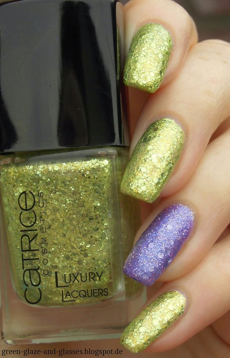 Green, Glaze & Glasses: Catrice - Luxury Lacquers (08 My Big Green Wedding & 03 Let's Get Lost In Vegas)