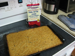 The Cravings Place Gluten Free Peanut Butter Cookie Mix #yegfood #gfree