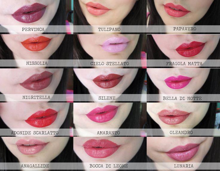 i nuovi 15 rossetti Alkemilla Eco Bio Cosmetic