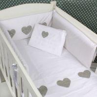 100% cotton baby linen