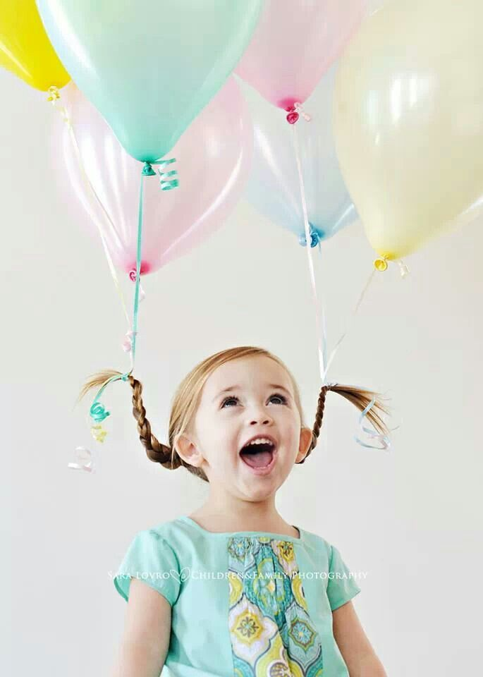 This would be a cute birthday picture someday - this has clo all over it!