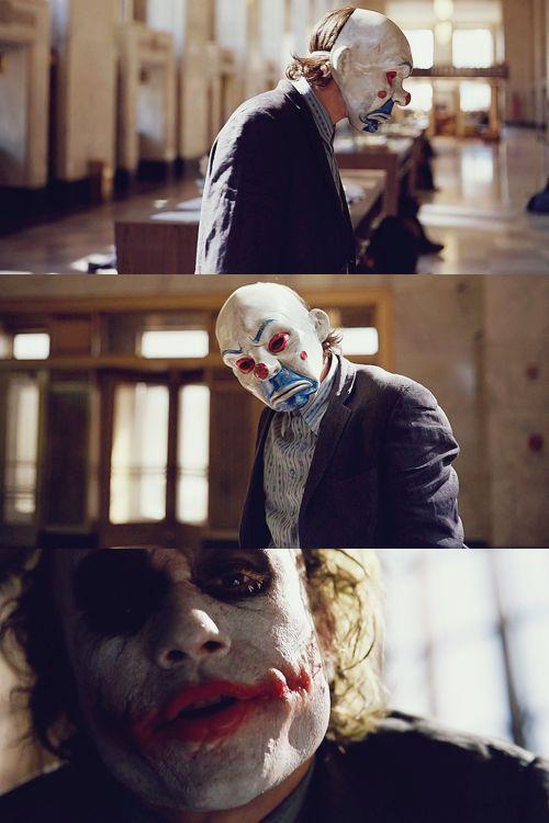 Heath Ledger as The Joker in The Dark Knight (2008)