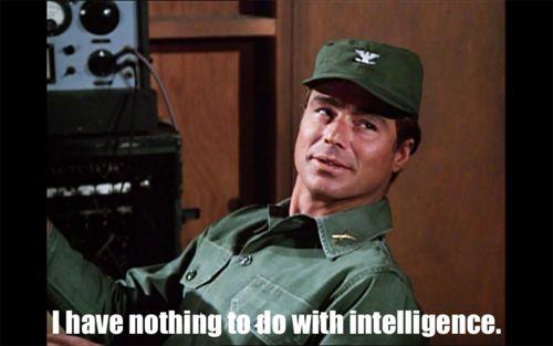 M*A*S*H - No kidding Col. Flagg lol (Edward Dean Winter 1937-2001)