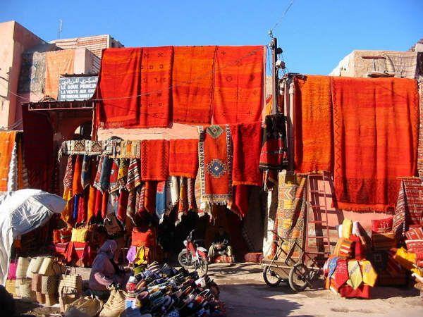 tappeti rossi a Marrakech