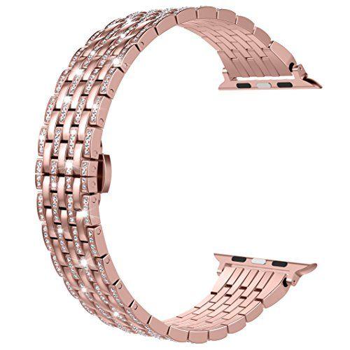 Für Apple Watch Armband, Wearlizer Edelstahl Metall iWatc... https://www.amazon.de/dp/B074N3DBQ6/ref=cm_sw_r_pi_dp_x_TA6Zzb366P415