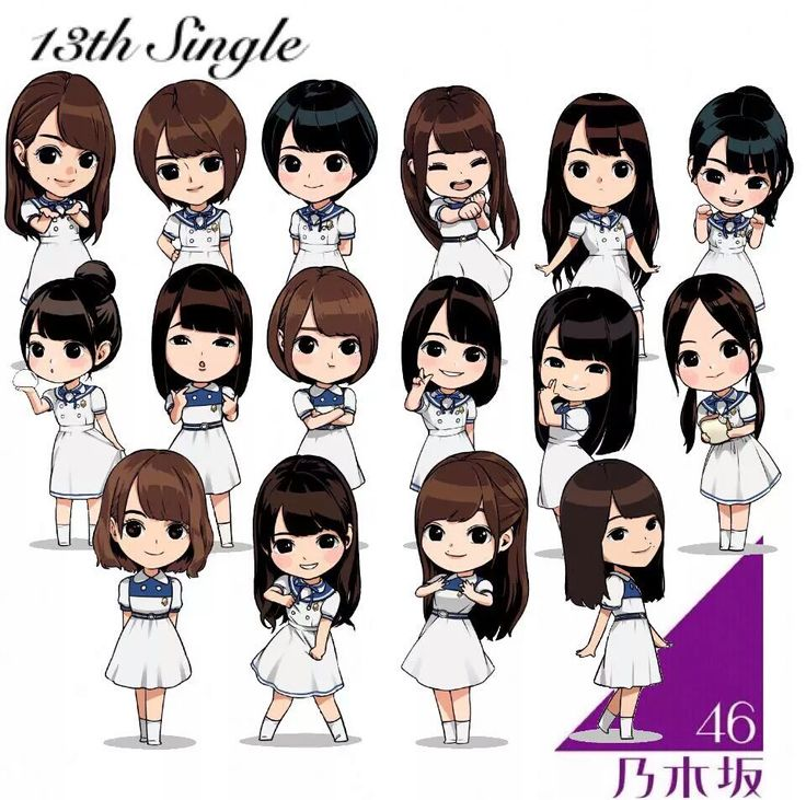 4497-46: 13th single senbatsu Chibi ver.