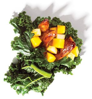 For only 34 calories per cup, the leaves deliver satisfying fiber and vitamin C, which may help burn fat.