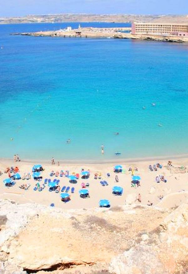 Paradise beach, Malta │ #VisitMalta visitmalta.com