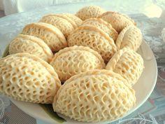 şekerbura or shekerbura pastry from Azerbaijan