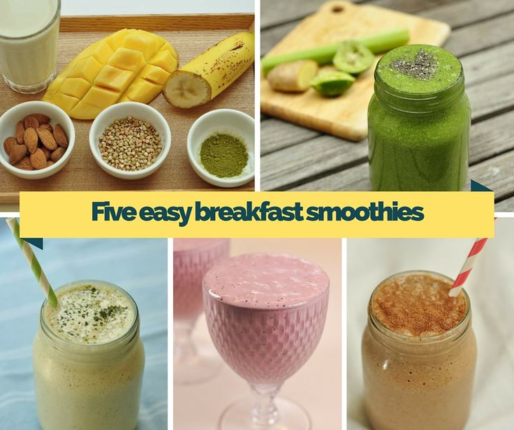 five+easy+breakfast+smoothies