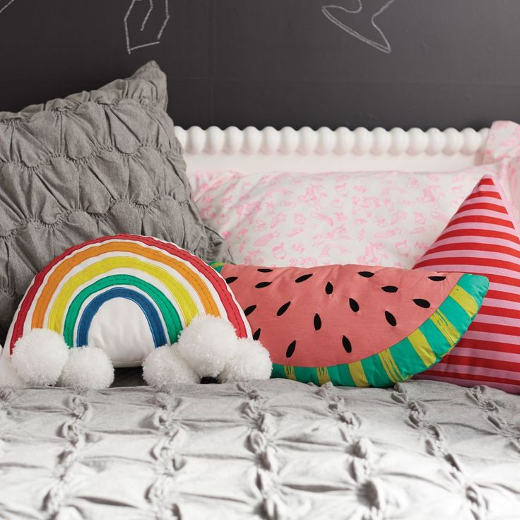Watermelon Pillow | The Land of Nod