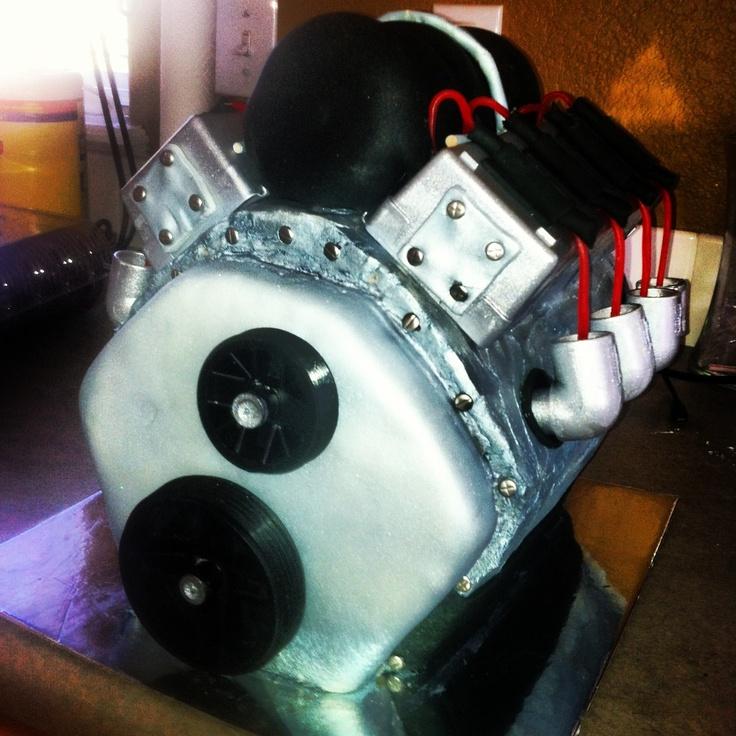 Motor cake, engine cake