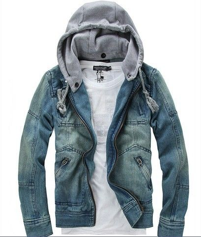 autumn new han edition Blazer man's cowboy coat cultivate one's morality hoodies men's jacket denim.