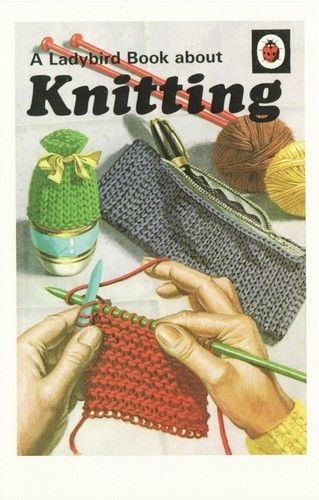 Knitting Ladybird Book Cover 1972