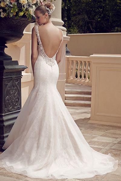 Wedding gown by Casablanca Bridal