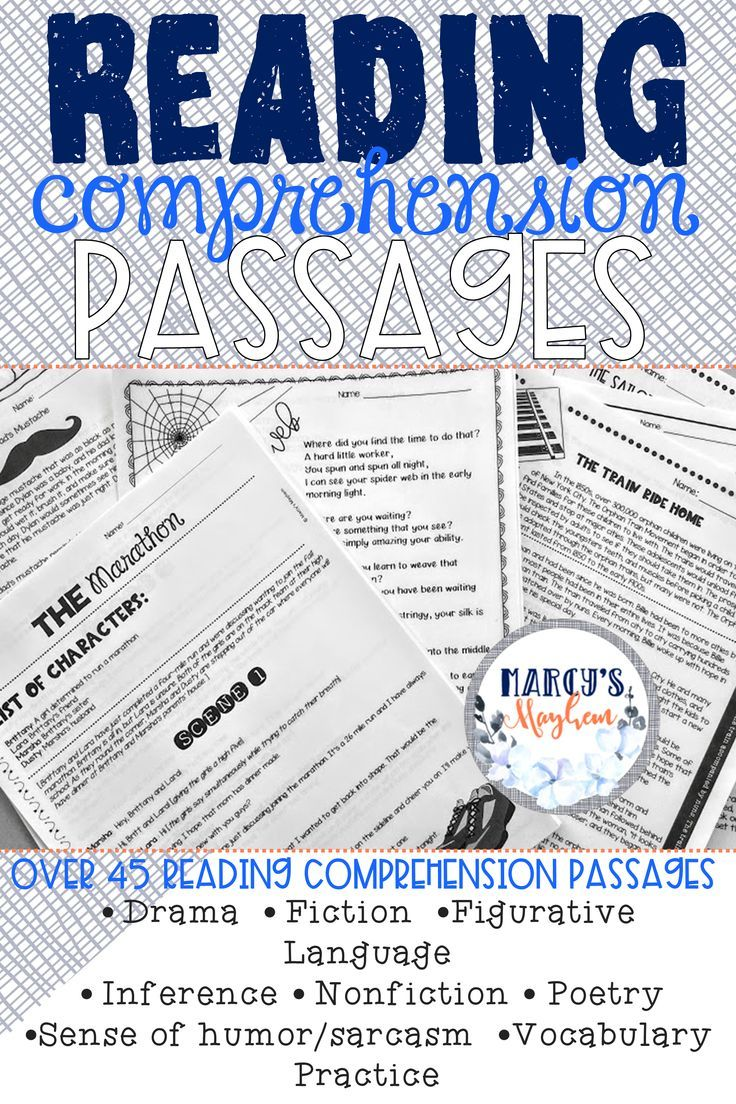 This Reading Comprehension Passages And Questions Contains Over 45 Passages And Is Reading Comprehension Reading Comprehension Passages Comprehension Passage [ 1104 x 736 Pixel ]