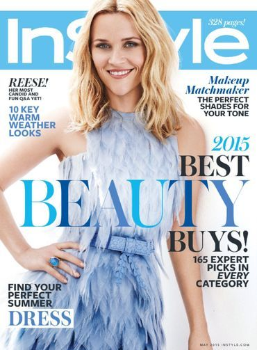 Reese Witherspoon – InStyle Magazine May 2015