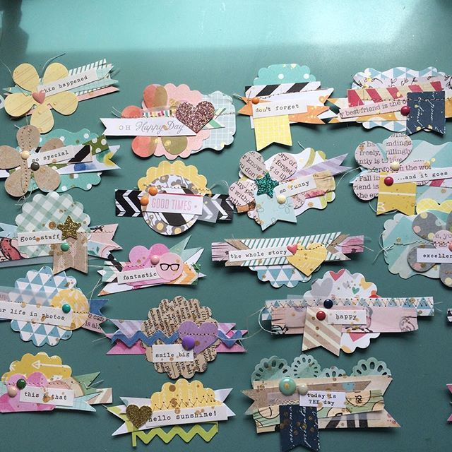 scrapbooking craft ideas best 25 scrapbook embellishments ideas on 2887