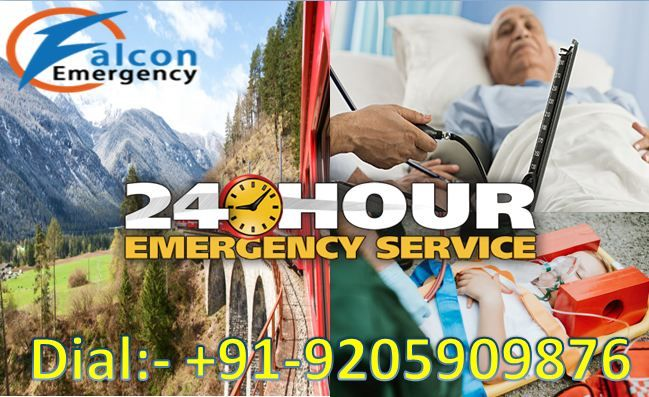Now The Falcon Air And Train Ambulance In Guwahati And Ranchi Provides The Best Medical And Complete Icu Faci Best Hospitals Emergency Medical Medical Services