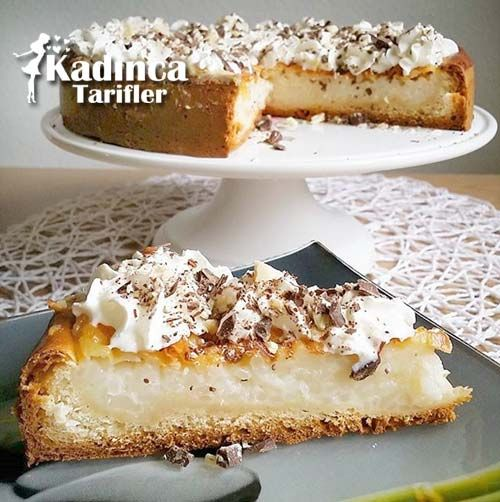 Sütlaçlı Pasta Tarifi