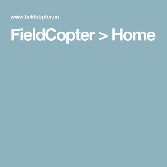 FieldCopter > Home