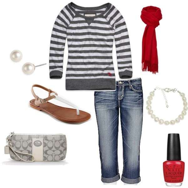 """casual"" by mrstown on Polyvore"