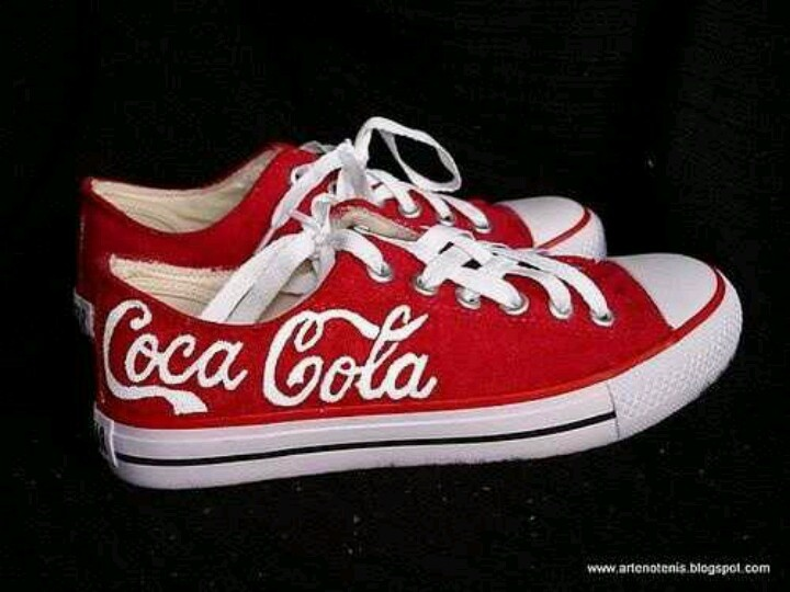 Coke White Shoes