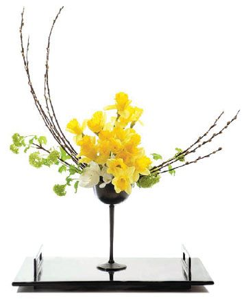 "floral wester linear design | IKEBANA"" The Japanese traditional flower arrangement — Ikebana ..."