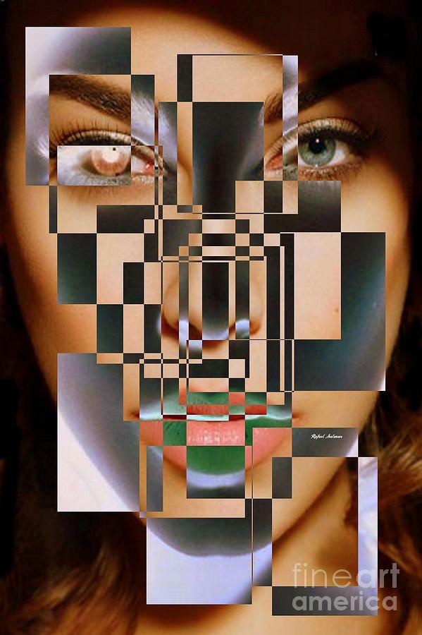 Millennial Square Series 1257 Digital Art by Rafael Salazar