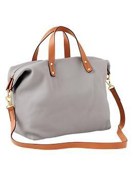 Leather satchel   Gap