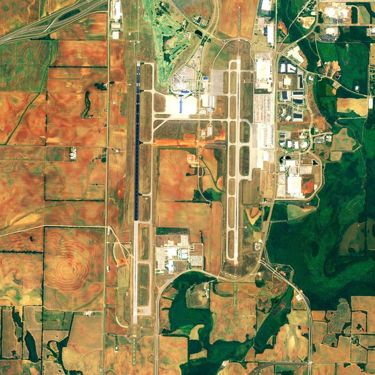 Huntsville Intl HSV Awesome aerial view It