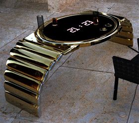 Cool Electronic Gadgets: LED Watch Table