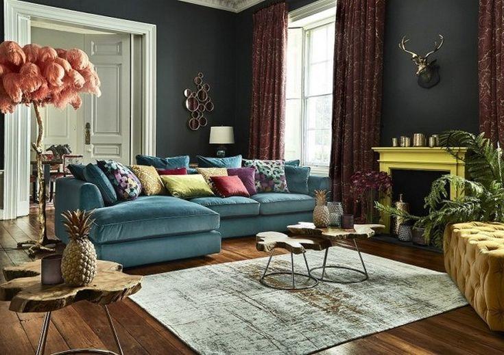 Best 100 Creativity Chic Turquoise Modern Living Room Avec 640 x 480