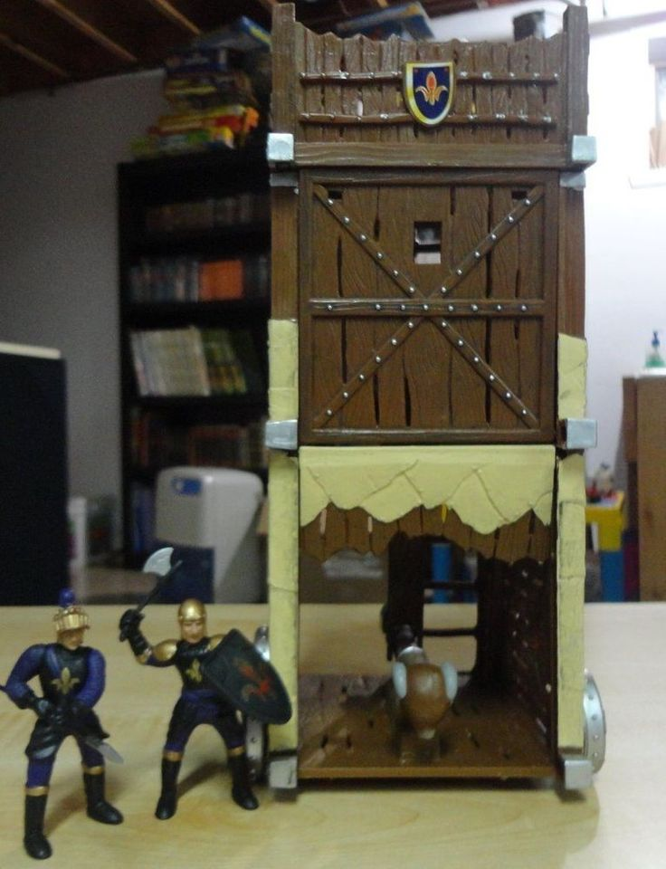 medieval siege tower. simba toy germany