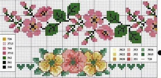 flores delicadeza on Pinterest | Cross Stitches, Cross Stitch Rose ...