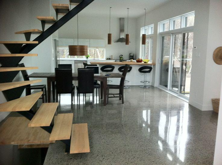 14 best Le plancher images on Pinterest Polished concrete, The