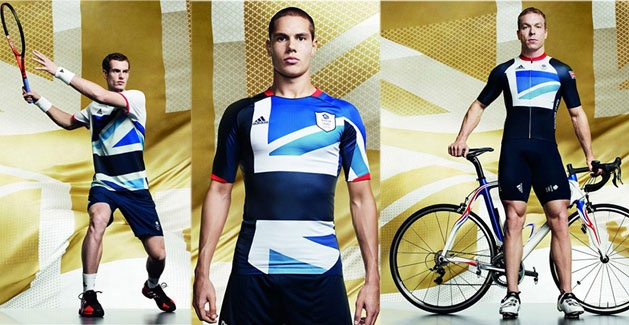 Apparently, the playing field is a runway too.  TEAM GB KITS REVEALED