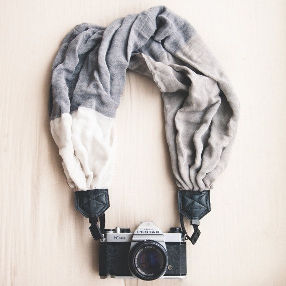 handmade scarf camera strap (PS check out this site for some cool photo tips & courses)