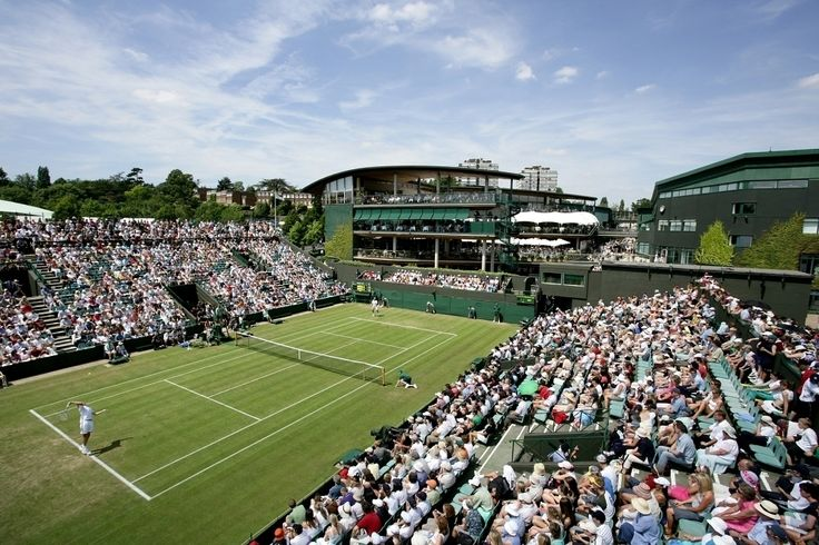 Getting into the Wimbledon Championships at the All England Lawn Tennis Club requires forethought. Seats on Centre and Number One courts are distributed by ballot...