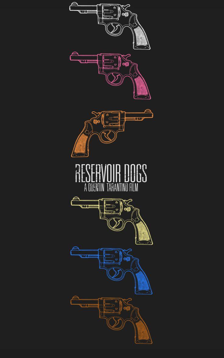 Minimal Movie Posters — Reservoir Dogs by Brandon Michael Elrod